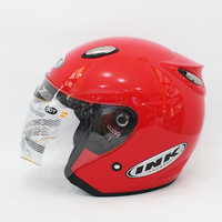 Helm Basic Red Fire INK Centro- KYT GM MDS BOGO RETRO NHK SNAIL JPX AG