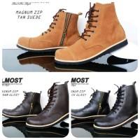 harga Sepatu boots Almost Magnum cocok di pakai naik motor hitam coklat tan Tokopedia.com