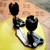 Pelindung dan Slider Knalpot Merk Bikers untuk Yamaha NMAX