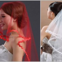 Veil Kerudung gaun pengantin wedding dress slayer penutup kepala nikah