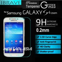 Tempered Glass for Galaxy S4 Zoom C-101 : iBrave PREMIUM 0.2mm 2.5D