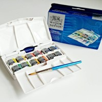 Winsor & Newton Cotman Watercolor Box 12