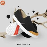 Sepatu Wanita / Sepatu Kets Wanita / Sepatu Finn Black Tan