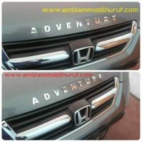 Jual Emblem mobil nama huruf angka untuk honda adventure touring Murah