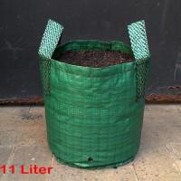 Planter Bag 11 Liter 2 Handle - Hijau