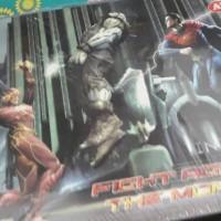 Buku Gambar AL GOLD A4 IN JUSTICE superman vs batman