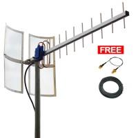 Antena Yagi 3G 4G Untuk Modem Huawei Wifi E5573