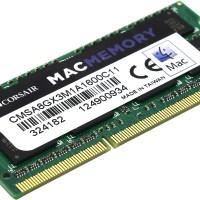 Corsair Memory Mac 8GB (1x8GB) PC 1600 C11