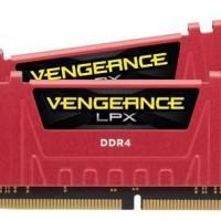 Corsair Vengeance LPX 8GB DDR4 (2x4) PC2666 C16 RED