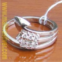 harga cincin cewek perak 925 semarang CMLD.205 Tokopedia.com
