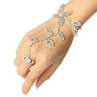 FINGER BRACELET GELANG CINCIN ALA INDIA