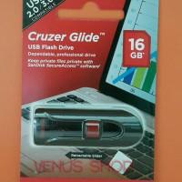 SANDISK FLASHDISK 16GB CRUZER GLIDE CZ 60 / USB FLASH 16 GB