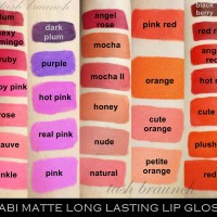 NABI MATTE LONG LASTING LIP GLOSS