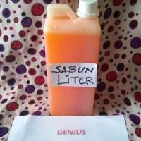 Sabun Hn Liter / Sabun Hn Literan Encer Berbusa Bau Pepaya