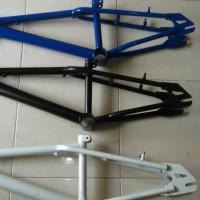 CUCI GUDANG!!! Frame plus fork sepeda bmx 20.