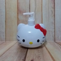 Botol Tempat Sabun Lotion Shampoo Dispenser Pump Karakter Hello Kitty