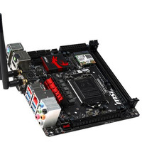 MSI Z87I Gaming AC (Wifi + BT) (LGA1150, Z87, DDR3, SATA3, USB3)