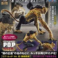 P.O.P MAS Rob Lucci Leopard Ver. Original Megahouse