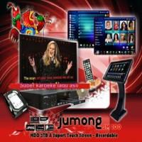 Murah !!! Super DVD PLAYER KARAOKE JUMONG JM 100 + Layar Touch