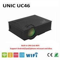 Jual UC46 Proyektor Mini LCD Projector 1200 Lumens Support 1920x1080 Murah