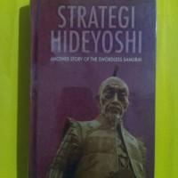 Buku STRATEGI HIDEYOSHI other story of the swordless samurai