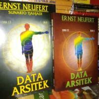 Data Arsitek jilid 1&2 (saty set) by Ernest Neufert