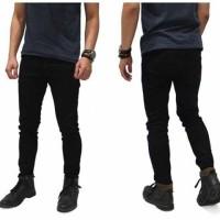 Jeans Hitam Pria | Skinny Jeans Hitam Pria | Celana Jeans Pria Murah