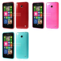 Glossy Outer Brushed Inner Tpu Gel Shell Nokia Lumia 630/ Dual