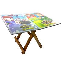 Meja Lipat Anak / Meja Belajar Anak / Meja Anak Kayu Sofia Murah