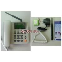 harga ZTE GSM WP626 FWP Fixed Wireless Phone Desk Cordless Phone Tokopedia.com