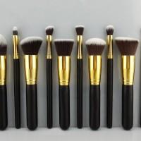 Makeup Brush Set - GOLD