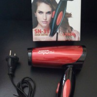 Jual Hair Dryer Rambut / Hair Dryer Hairdryer Sonar Mini Lipat Panas/Dingin Murah