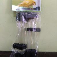 harga Tempat Makan Minum Burung Dispenser Panjang Bulat Isi 2pcs Tokopedia.com