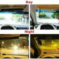 HD Vision Visor Pelindung Kaca Mobil Sinar Panas Lampu Aksesoris Grosi
