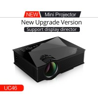 UC46 Mini Projector LED Mini Projector Home Theater Cinema Multimedia