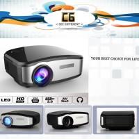 Proyektor With TV Tuner Projector Cheerlux Projektor C6 C-6 C 6 Murah