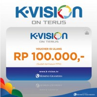 Voucher Fisik K-Vision 100