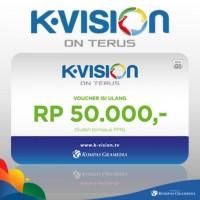 Voucher Fisik K-Vision 50