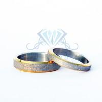Cincin Couple Anti Karat dan Tidak Menghitam, Bahan Titanium Kode:14