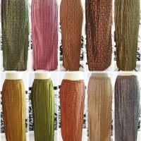 Jual bawahan kebaya batik rok prisket warna panjang wisuda pesta modern Murah