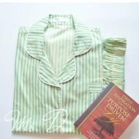 Baju Tidur Sleepwear Piyama Piama Pajamas Baju Santai Stripes Tosca