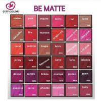 City Color Be Matte Lipstick