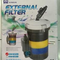 Filter External Sunsun HW-602B untuk Akuarium