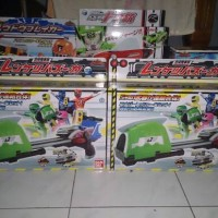 BANDAI RESSHA SENTAI TOQGER DX WEAPON SET