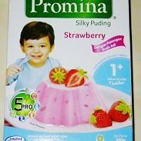 Promina Silky Puding Strawberry 1 +
