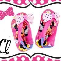 harga Sendal Capit Anak Minnie Mouse Pita -rsby-1406 Tokopedia.com