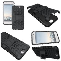 HTC One A9 - Heavy Duty Rugged Armor Stand Case