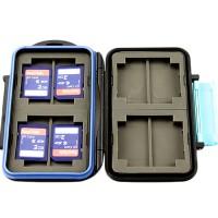 JJC MC-2 Memory Card Case fits 4 x CF, 8 x SD