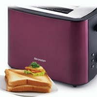Sharp Pop Up Toaster KZ200LP (K) -CDM