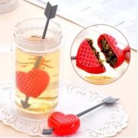 Jual Saringan Teh Hati Panah Love Heart Cupid Tea Infuser Murah